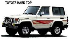 Hard Top - Costa Rica Car Rentals