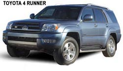 4 Runner - Costa Rica Car Rentals