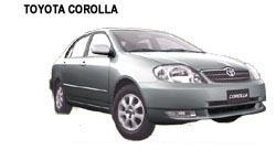 Corolla - Costa Rica Car Rentals