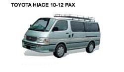 Toyota Van - Costa Rica Car Rentals