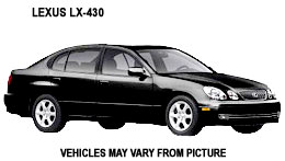Lexus GS430 - Costa Rica Car Rentals