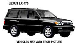 Lexus LX 470 - Costa Rica Car Rentals