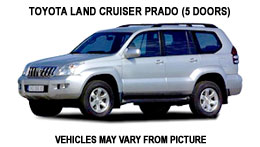Land Cruiser - Costa Rica Car Rentals